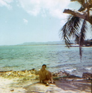 Craig on Negril Beach - 1971